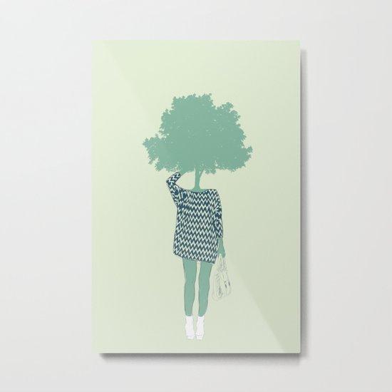 Woman Nature 6 Metal Print