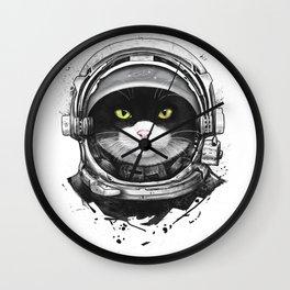 Cosmic cat Wall Clock