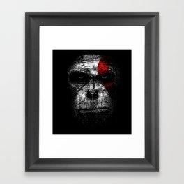 Ape of war Framed Art Print