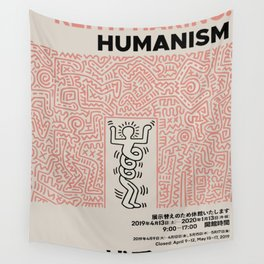 Humanism Japan Wall Tapestry
