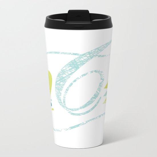 C-curl Metal Travel Mug