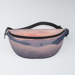 BODY OF WATER DURING GOLDEN HOUR Fanny Pack