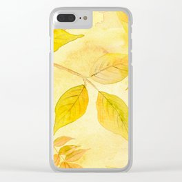 Autumn leaves #13 Clear iPhone Case
