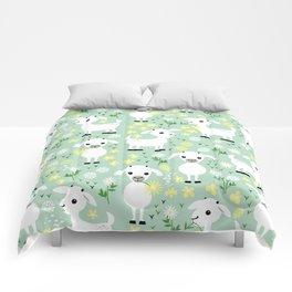 Baby goats Comforters