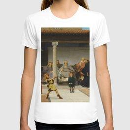 "Sir Lawrence Alma-Tadema ""Education of the Children of Clovis (School of Vengeance)"" T-shirt"