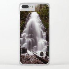 Fairy Falls, Oregon Clear iPhone Case