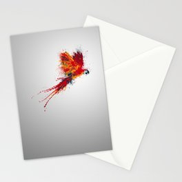 Colorfull parrot Stationery Cards