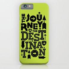 Green Journey Quote Slim Case iPhone 6s