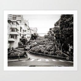 Lombard Street - SanFran Art Print