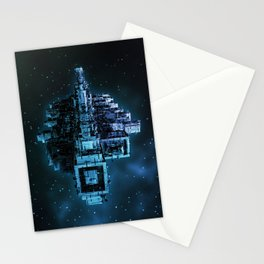 Leviathan BLUE / Keep on trucking Stationery Cards