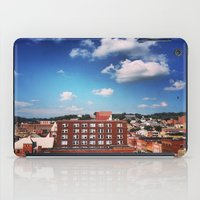 paper towns iPad Cases featuring towns of steel by neverqueenkirk