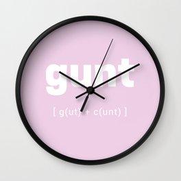 Gunt Wall Clock