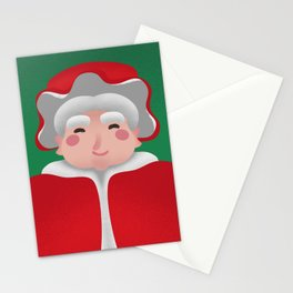 Mrs. Claus Christmas Portrait Stationery Cards