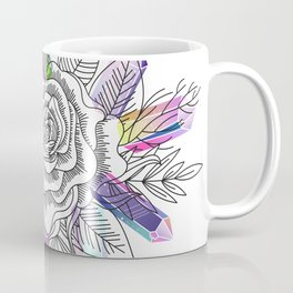 Rose and Crystals Coffee Mug