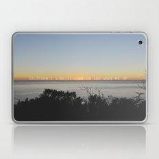 california sunrise come on and wake me up  Laptop & iPad Skin
