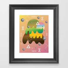Design With Fun ~ chapter 04 Framed Art Print