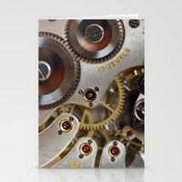 clockwork orange Stationery Cards featuring Clockwork Orange by Cornish Seascapes