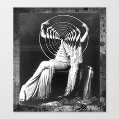 IMPLOSION Canvas Print