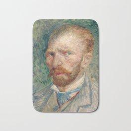 Vincent Van Gogh Self Portrait Bath Mat