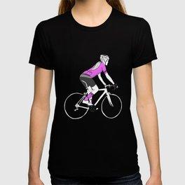 Girl Cyclist T-shirt