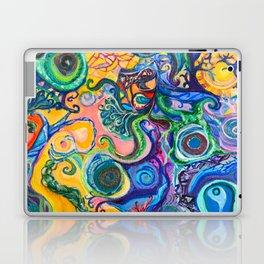 Colorful Brain Clutter Laptop & iPad Skin