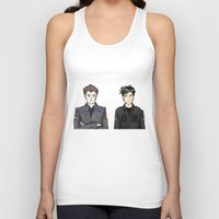 stargate Tank Tops featuring John and Rodney by dammitspawk
