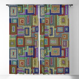 Kaffe Fassett Squares Blackout Curtain