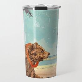 Beach Bear Travel Mug