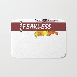 Far From Fearless Bath Mat