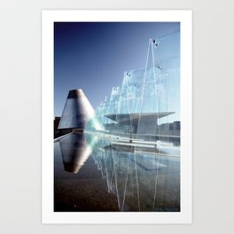 MOG Reflecting Pool Art Print