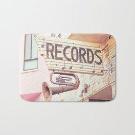 Records Bath Mat