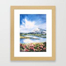 Spring Always Comes Framed Art Print