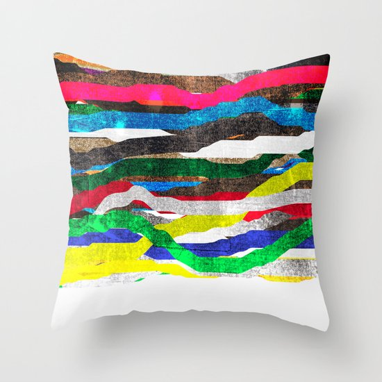 fancy stripes 2 Throw Pillow