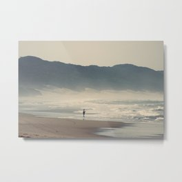 Fisherman at Cape Vidal Metal Print