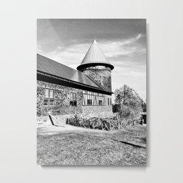Farm Barn Metal Print