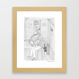 beegarden.works 008 Framed Art Print
