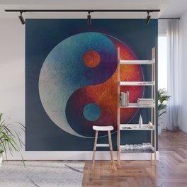 Yin Yang Symbol Wall Mural