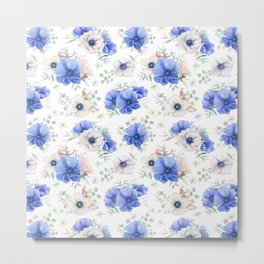 Blue Meadow 2 Metal Print