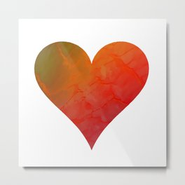 Hearts Beat The Same Metal Print