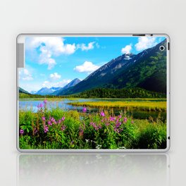God's Country - Summer in Alaska Laptop & iPad Skin