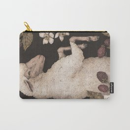 The Sheep and Blackberries Carry-All Pouch