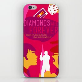 James Bond Golden Era Series :: Diamonds Are Forever iPhone Skin