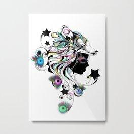 lashwolf Metal Print