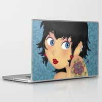 rockabilly Laptop & iPad Skins featuring Rockabilly by Katherine Galo