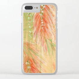red weeping willow Clear iPhone Case