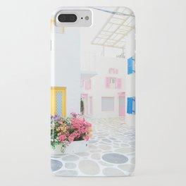 Santorini #decor #buyart #society6 iPhone Case