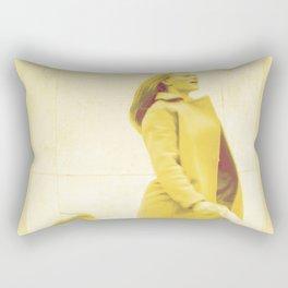 Sunny woman Rectangular Pillow