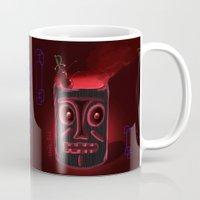 Tiki Black Mug