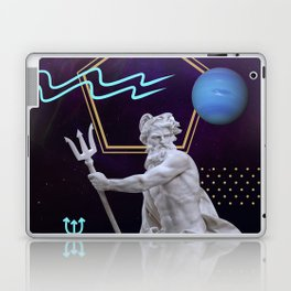 Ancient Gods and Planets: Neptune Laptop & iPad Skin