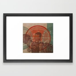 Dumbell Framed Art Print
